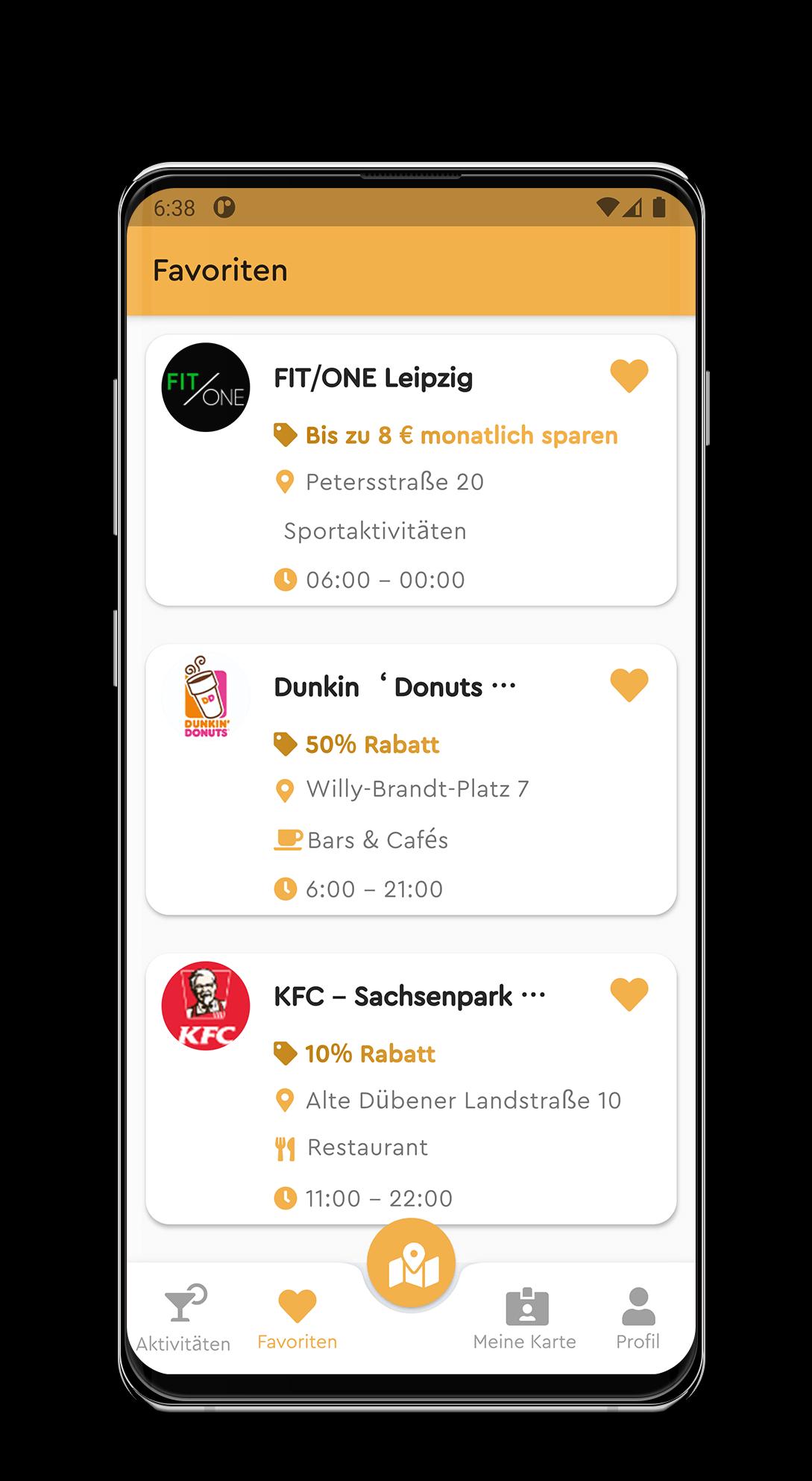 Kundenprojekt von PriorApps GmbH | App Entwicklung mit dem Namen Goldenmomentcard